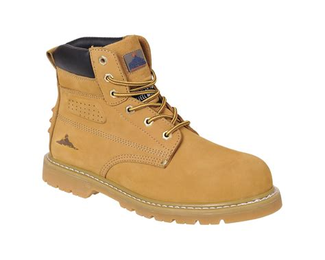Sepatu Safety Cofra portwest fw35 steelite welted plus safety boot sbp hro