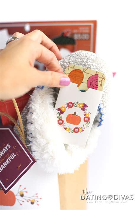 Thanksgiving Gift Card Holders - blessing bag