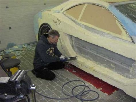 diy car insulation this covered his junk car in expanding foam now i
