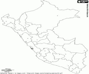 coloring page map of peru political maps of america countries coloring pages