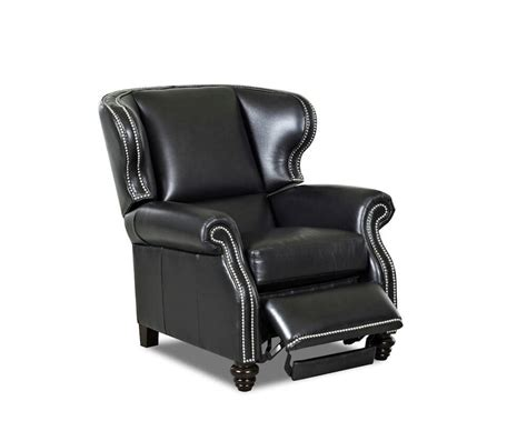 wingback leather recliners wingback leather recliner american made cl735