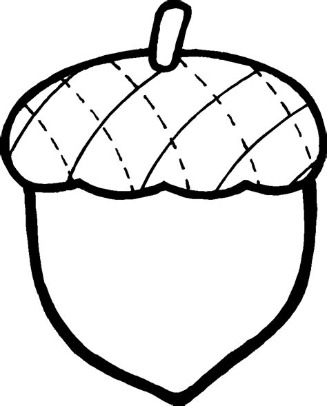 acorn coloring pages getcoloringpages com