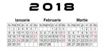 Calendar 2018 Limba Romana Softulescu