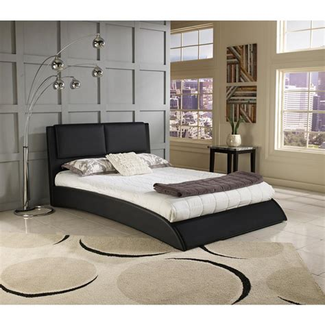 Rest Rite Rest Rite Willow Bend Black Full Upholstered Black Upholstered Bed Frame