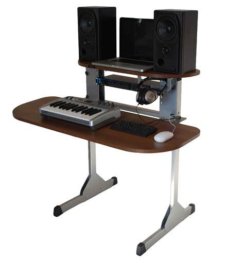 Dj Desk sefour x15 studio dj desk tobacco walnut dj equipment