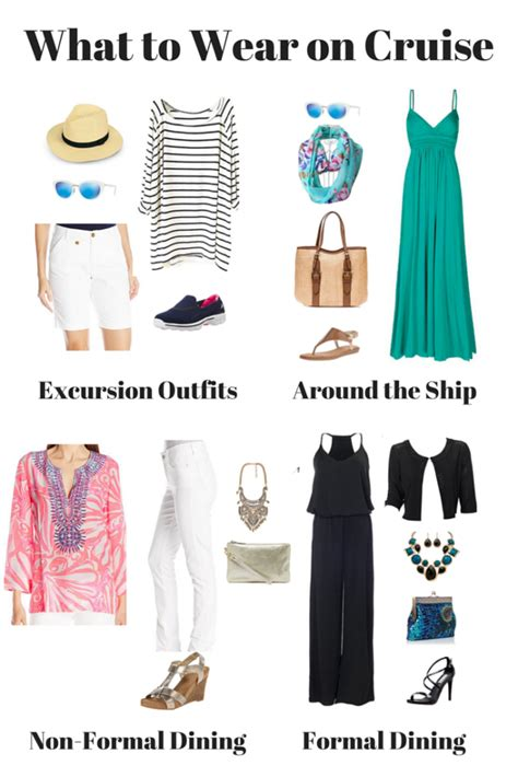 what to wear for a the ultimate cruise packing list