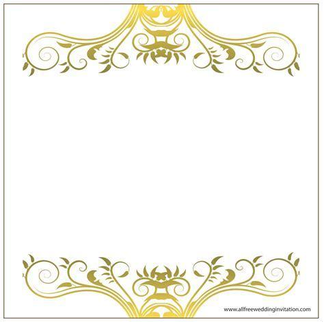 Decorative Borders For Wedding Invitations