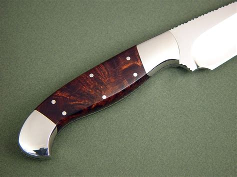 quot hestia quot fine chef s handmade knife by jay fisher knife handle materials woods honduras forums showthreadp