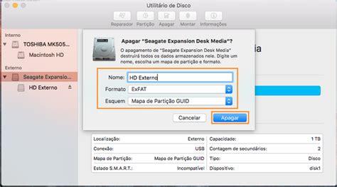 como instalar format factory no mac como formatar um hd para que funcione no pc e no mac