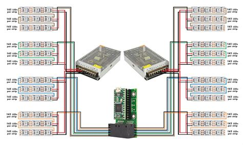 3400 led display wiring question