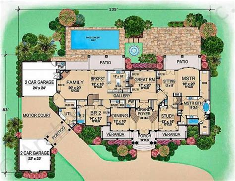 villa house plans floor plans villa emo mansion floor plans luxury floor plans emo