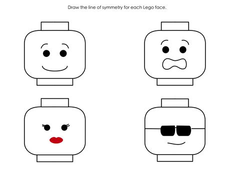 lego face template printable sketch coloring page