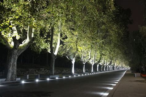 In Ground Landscape Lighting Outdoor Illumination 9w Ip68 Multi Color Led Landscape