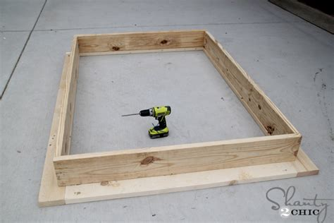 easy diy platform bed shanty 2 chic