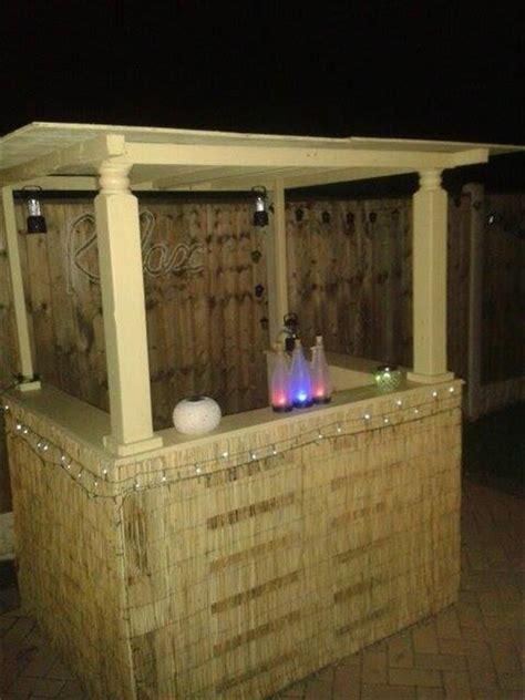 Handmade Bar - pallet outdoor bar pallet furniture