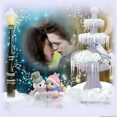 imagenes de invierno romantico marcos para fotos noche de invierno marcos para fotos gratis