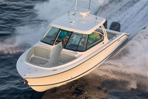 dual console boats 2016 pursuit dc 325 dual console power boats outboard