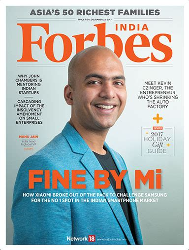 Forbes India by The Smart Challenger Forbes India