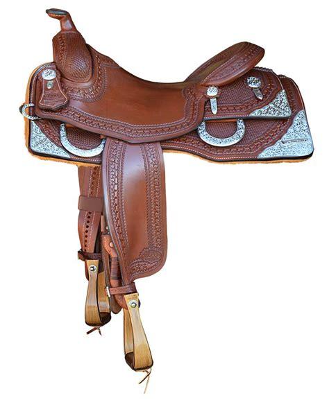 Handmade Tack - elite custom saddles vandorp reining horses