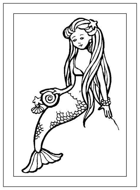 mermaid birthday coloring page little mermaid coloring pages birthday printable