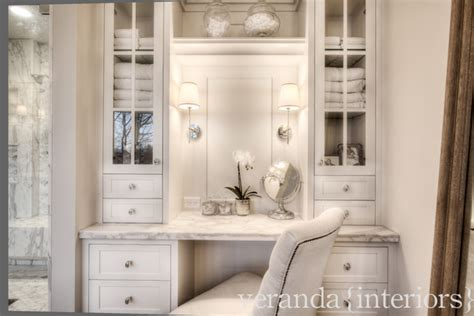 Ballard Design Furniture bathroom vanities with makeup area bathroom traditional