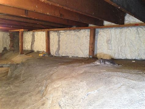 crawl space conversion project pope