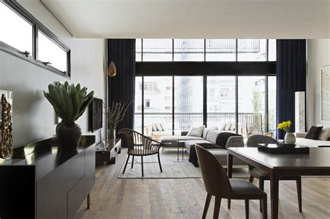 contemporary apartment design modern industrial interior design in beautiful open