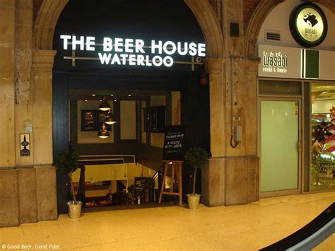 house beer beer house waterloo pub review good beer good pubs