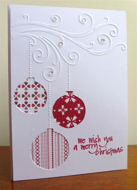 Christmas Gift Card Ideas - best 25 embossed christmas cards ideas on pinterest handmade christmas cards