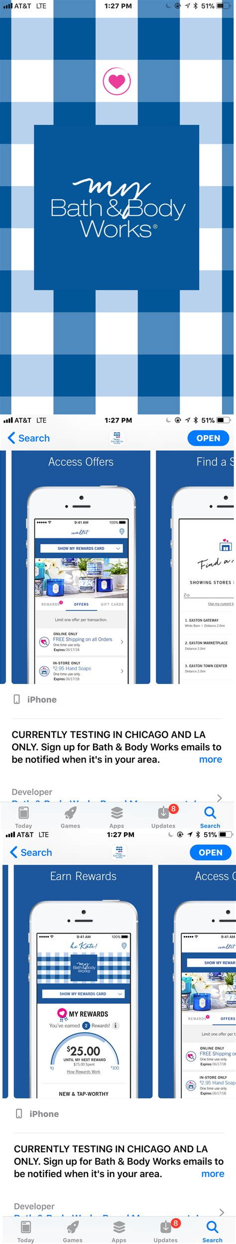 nyc bathroom app bath body works app and new rewards program musings of