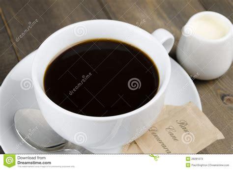 americano black coffee stock photos image 28281073