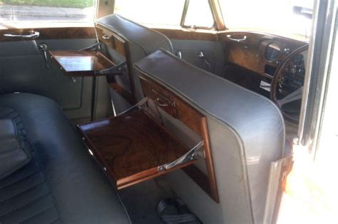 Rolls Royce Silver Cloud Interior by The White Cloud 1956 Rolls Royce