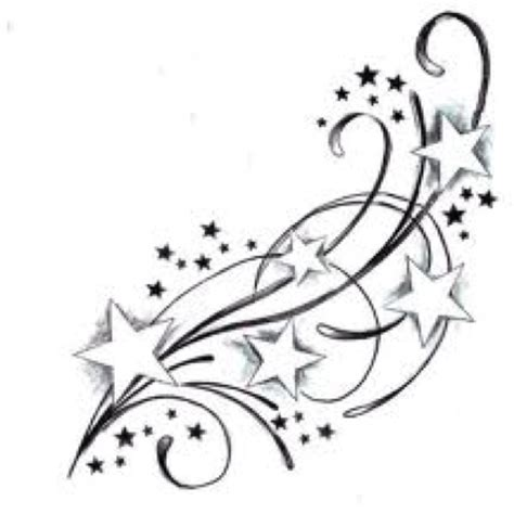 stars and swirls tattoo designs hopefully i can extend my and swirl on my foot