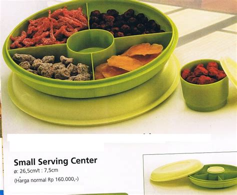 Small Serving Center Tupperware small serving center toko tupperware