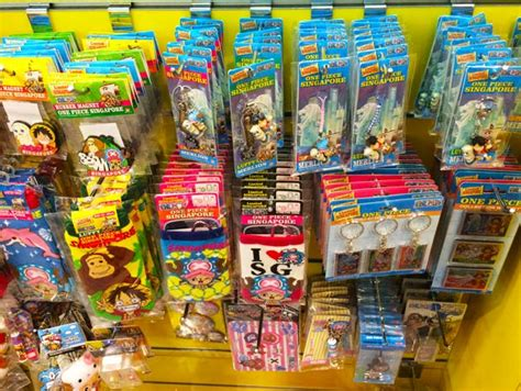 get these anime and one souvenirs if you visit singapore otaku house