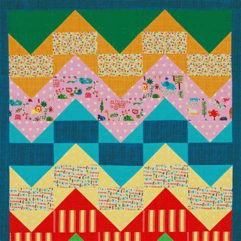 zigzag baby quilt allpeoplequilt