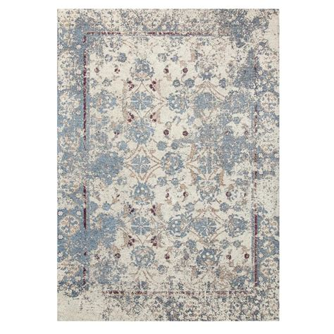 chesapeake rugs chesapeake merchandising chenille nebula pattern multi 5 ft x 7 ft area rug 12530 the home depot