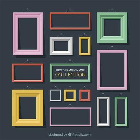 cornici design colori cornici decorative nel design piatta scaricare