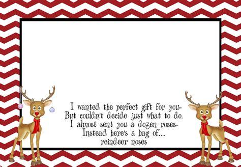 free printable reindeer noses poem reindeer noses printable poem family reunion helper