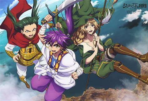 magi adventures of sinbad magi sinbad no bouken my anime shelf