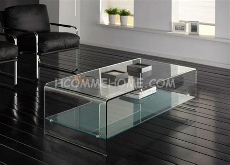 Table Basse Rectangulaire En Verre