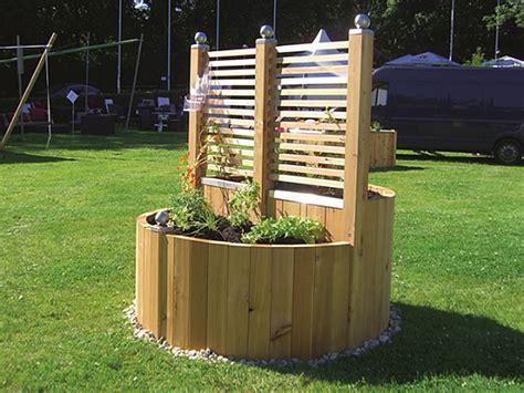 Hochbeet Als Sichtschutz Bepflanzen by Gartenart I Holzdesign
