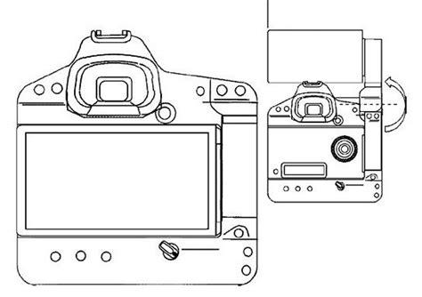 canon dslr flip screen canon patents a dslr flip screen