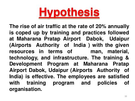 Airport Authority Of India For Mba by An Evaluative Study Of Human Resource Programs In