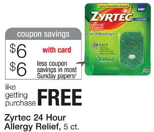 printable zyrtec coupon extreme couponing mommy walgreens coupon matchups 4 28