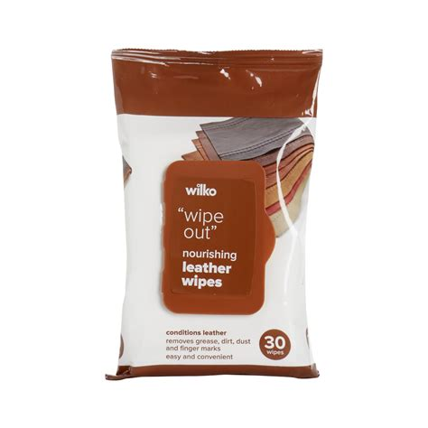 Leather Wipes by Wilko Leather Wipes 30pk At Wilko