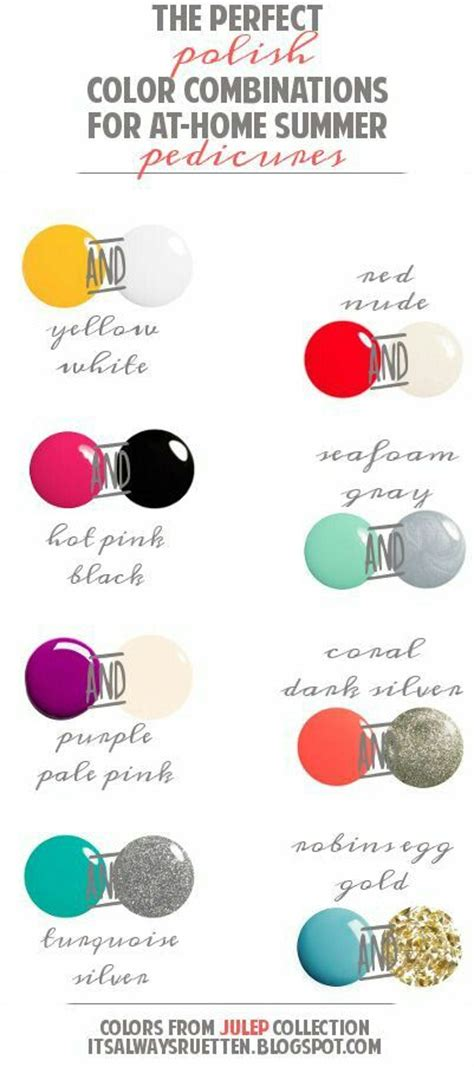 the top 8 summer pedicure shades makeup allure 3565 best polish addict images on pinterest nail