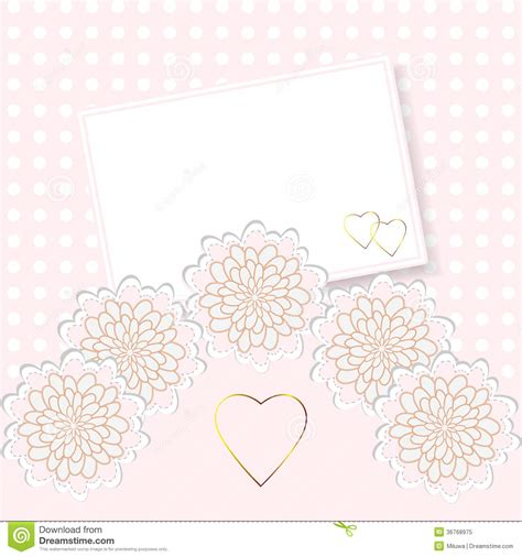 wedding invitation greeting cards wedding invitation or greeting card royalty free stock photo image 36768975