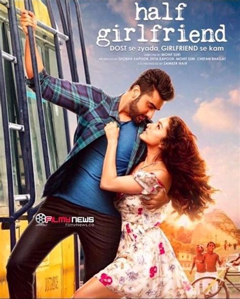 drama film video songs half girlfriend new poster out half girlfriend hindi movie