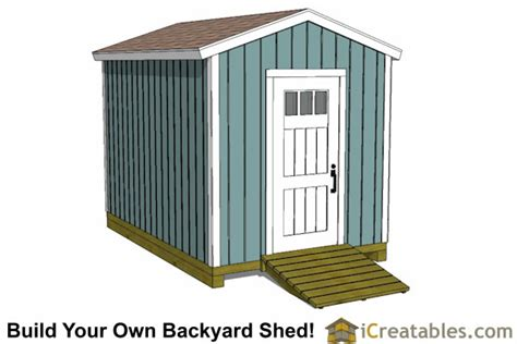 8x12 Shed Foundation by How To Build A 8 X12 Storage Shed